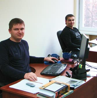 two managers of company