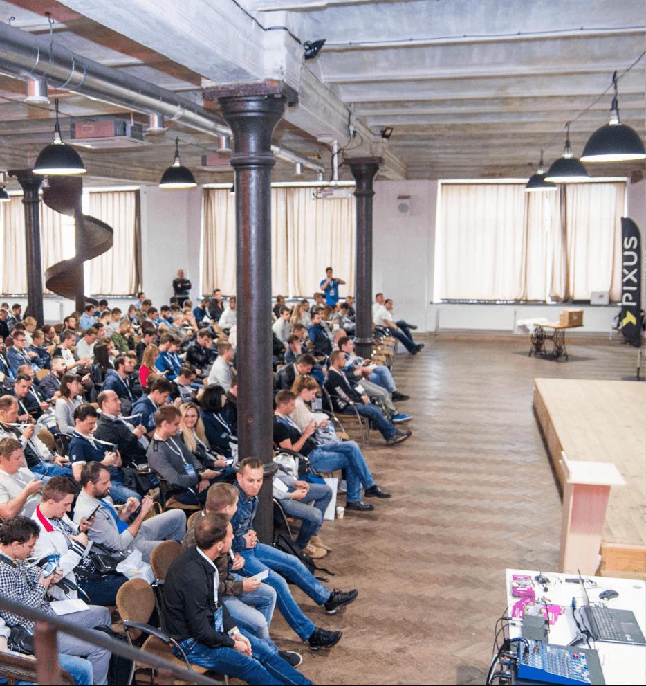 Kharkiv hosted .NET FullStack 2018 Conference