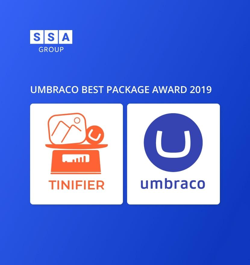 Tinifier got Umbraco Best Package Award 2019