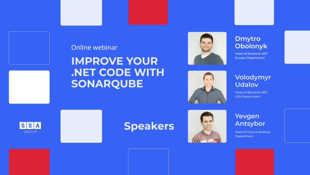 Improve your .NET code with SonarQube