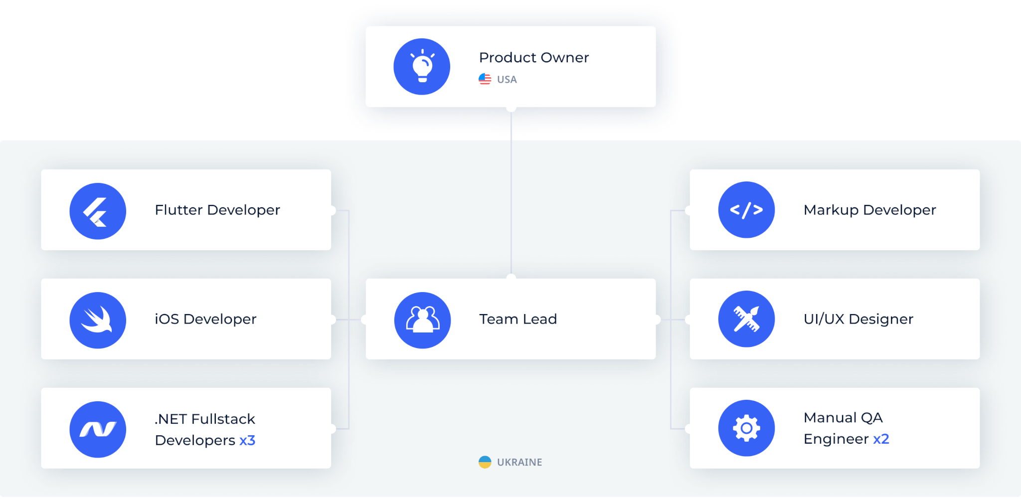 HealthCheck by Stratum team structure