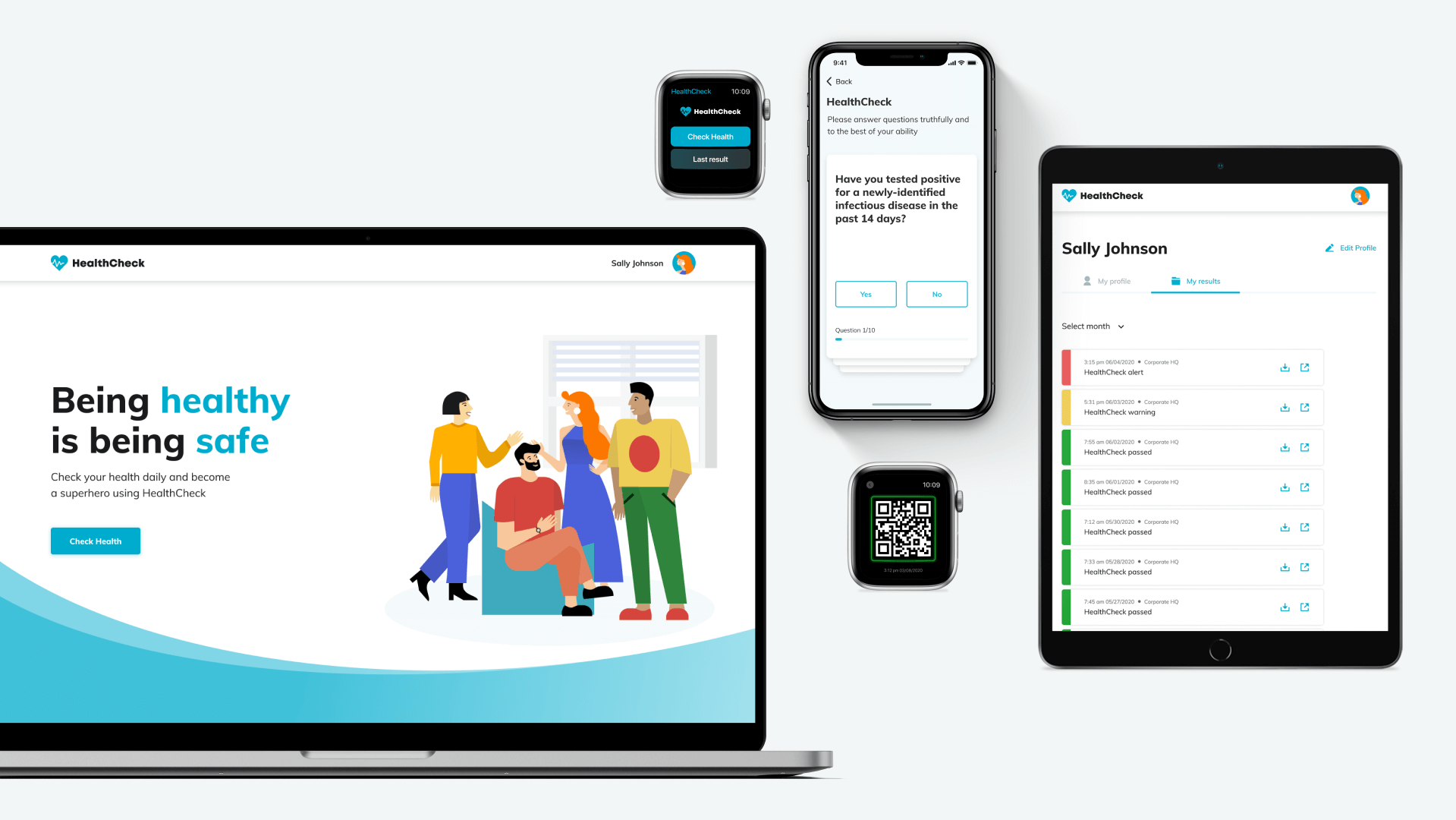 HealthCheck by Stratum screen 2