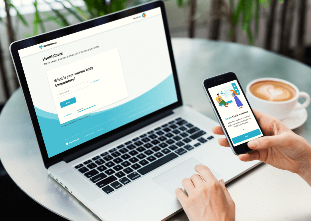 HealthCheck by Stratum screen