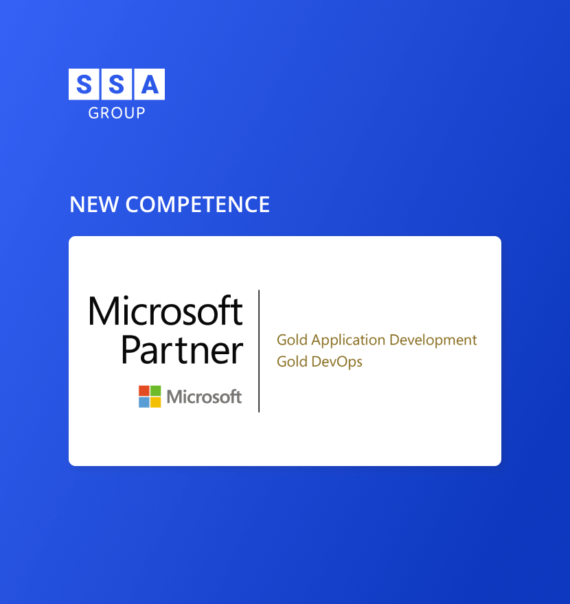 SSA Group obtained Microsoft Gold DevOps competency