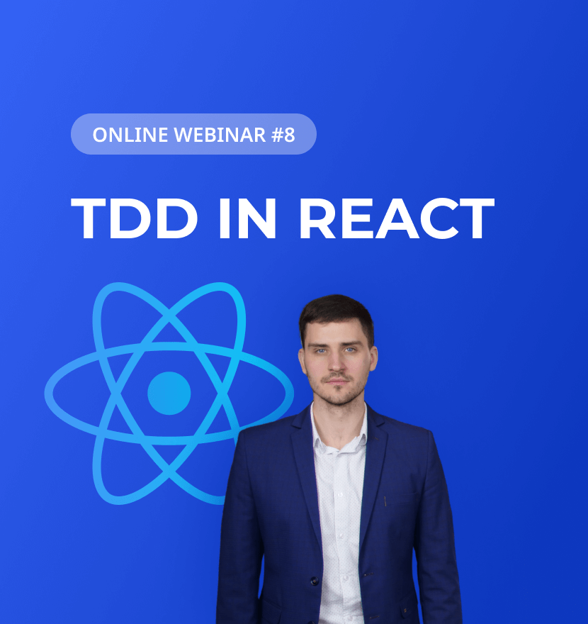 The 'TDD in React' webinar wraps the series of online events up in 2020