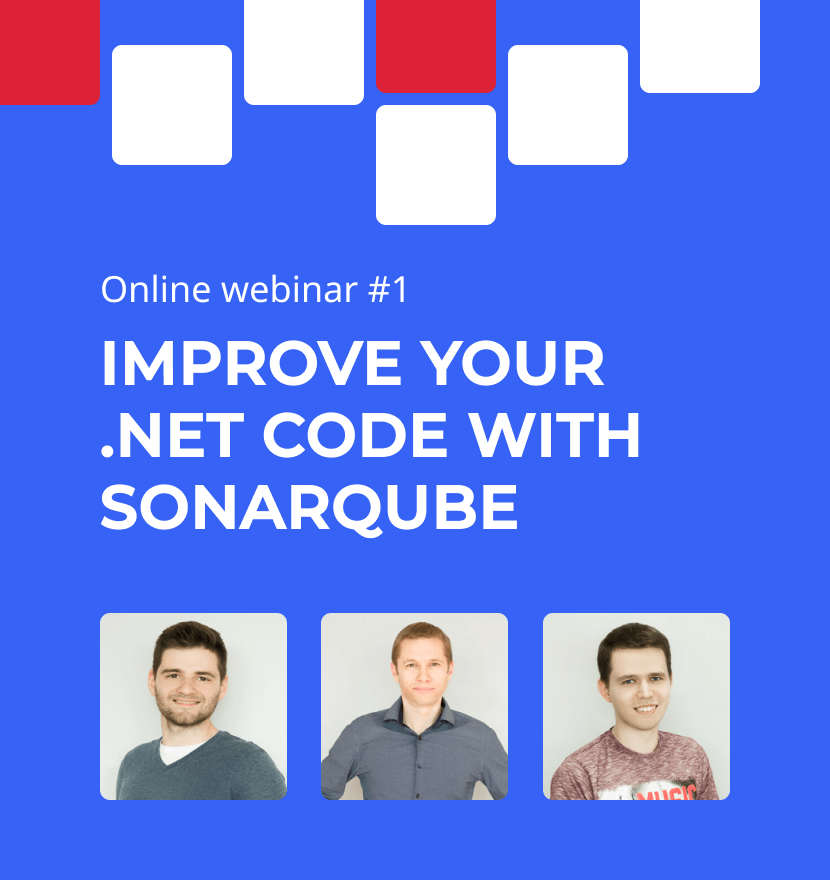 Improve your .NET code with SonarQube