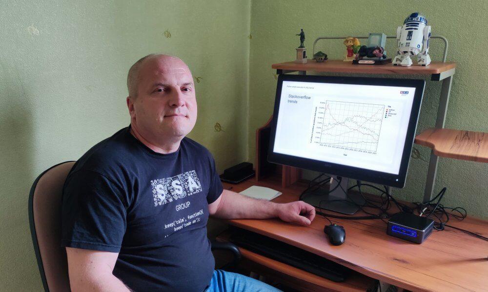 Python scripts webinar speaker