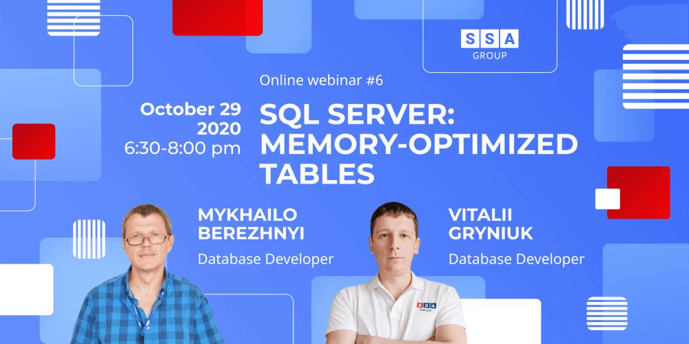 SQL Server: Memory-Optimized Tables
