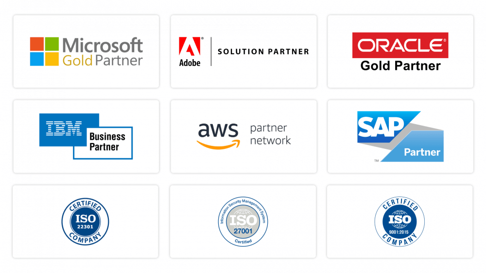 Popular corporate certifications