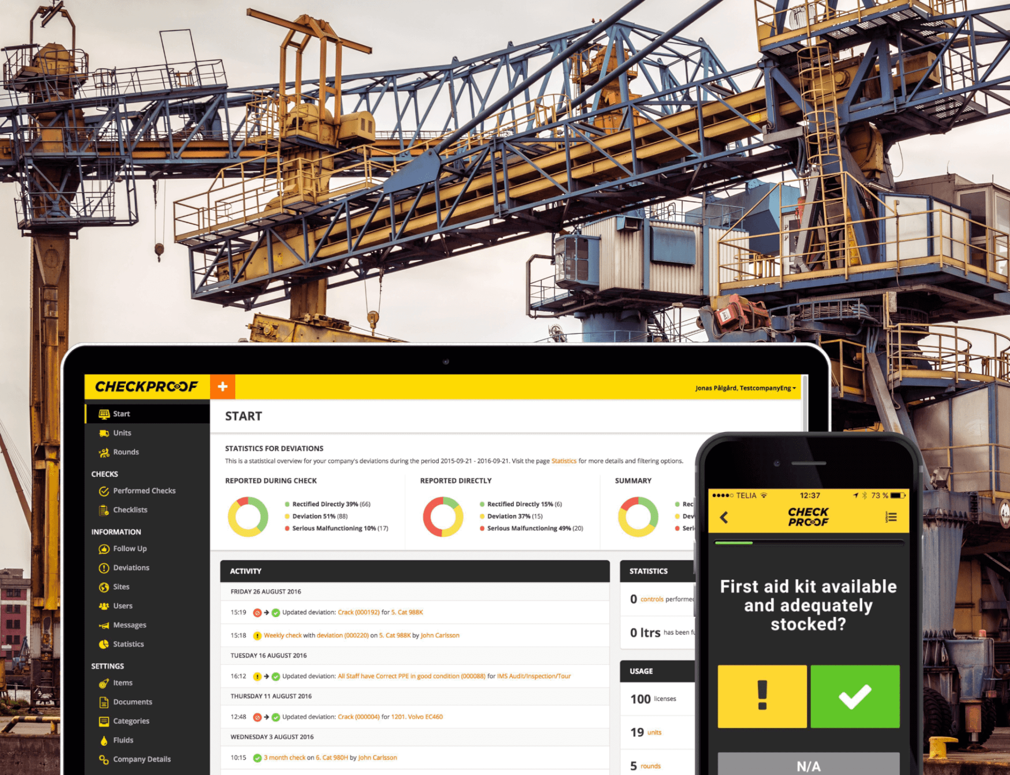 Quality Control Platform project